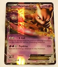 Pokemon Playing Card Mewtwo EX 54/113 LP