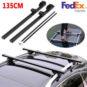 Roof Rack Cross Bars Luggage Rack Max Bearer 150KG/Pc Universal  135cm SUV USA