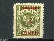 Memel 2C/300M Wappenreiter 1923** Michel 167 B I geprüft (S4069)