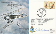 B5,70th Anniv Formation of LXX Squadron.Flown Hercules Signed John Young Artist