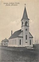 D88/ Nicollet Minnesota Mn Postcard c1910 German Lutheran Church