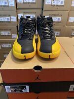 2020 Nike Air Jordan 12 Retro Black Gold Mens & GS Sizes 4-13 *IN HAND*