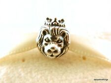 NEW/TAGS AUTHENTIC PANDORA SILVER CHARM LION KING OF THE JUNGLE #791377 RETIRED