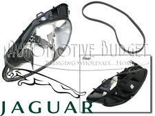 Driver side (Left) Headlight Lens Assembly w/o Washer Jaguar XK8 XKR - NEW OEM