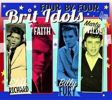 BRIT IDOLS - Cliff Richard, Adam Faith, Billy Fury, Marty Wilde [4CD Box Set]
