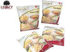 EMERGENCY FREEZE DRIED FOOD STORAGE SAMPLE PACK: SURVIVAL MEAL SAMPLER - 16 SVGS