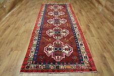Persian Traditional Vintage Wool 305cmX112 cm Oriental Rug Handmade Carpet Rugs