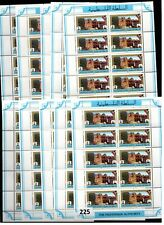 # 10X PALESTINE - MNH - ARCHITECTURE - FLAGS - 1994 - NEW CURRENCY - 100 STAMPS