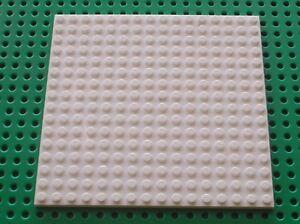 Plaque Lego Friends White Plate ref 91405/set 41148 41058 3315 21142 21120 10235
