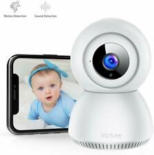 Baby Monitor Camera 1080P FHD WiFi IP Camera Sound Detection Motion Tracking