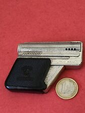 LIGHTER ESSENCE GUN BRIQUET PISTOLET IMCO GUNLITE AUSTRIA METAL GOOD CONDITION