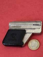 LIGHTER ESSENCE GUN BRIQUET PISTOLET IMCO GUNLITE AUSTRIA METAL GOOD CONDITION