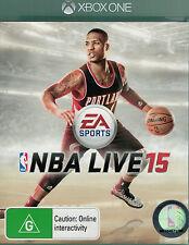 NBA Live 15, Microsoft Xbox One, XB1 game complete, Used