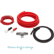 Audio System 10mm² OFC Kabelset Anschlusskit Auto Verstärker Stromkabel Z-PCS10