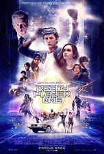 Ready Player One Original D/S Movie Poster 27 x 40 NEW Cline Spielberg Final