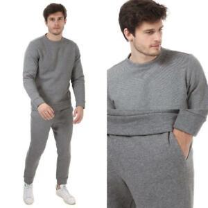 Mens Calvin Klein Regular Fit Jogger and Sweatshirt in Grey (Sold Separately)