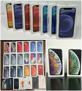 Genuine Apple iPhone PRO 12 MAX X/XS MAX 8+/8/7+/7/6+/6S,6,5 Empty Box Speck LL