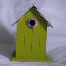 Bird Nest Box with Aluminium Roof