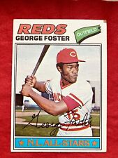 1977 topps george foster # 347 Vg