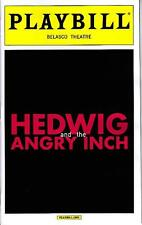 HEDWIG AND THE ANGRY INCH PLAYBILL NYC BROADWAY APRIL 2015 JOHN CAMERON MITCHELL