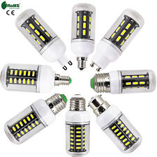 E27 E14 G9 GU10 B22 9W 12W 15W 24W LED Corn Lights Bulb 7030 SMD Lamp For Home