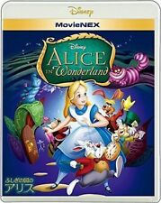 DISNEY-ALICE IN WONDERLAND (1951) MOVIENEX-JAPAN Blu-ray+DVD J50 zd