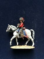 SOLDAT DE PLOMB CAVALIER EMPIRE OFFICIER HUSSARD CORPS DE KELLERMAN 1805