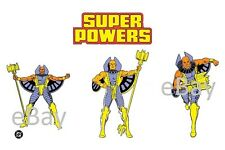 1988 Super Powers GOLDEN PHAROAH Model Art : Justice League
