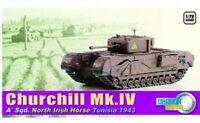 Dragon 60503 - 1/72 Brit. Churchill Mk.Iv - North Irish Horse Tunisia 1943 - Neu