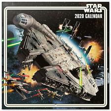 Star Wars - Offizieller FIlm Kalender 2020 - Größe 30x30 cm