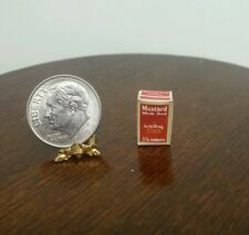 1:12 Dollhouse Miniatures Food Shilling Whole Mustard Seed