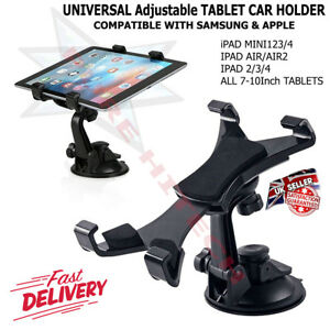 Car Dashboard Tablet Mount Holder 360 Rotation for 7-10 Inch iPad Mini Samsung
