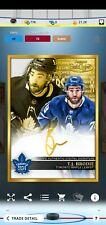Topps SKATE T.J Brodie ICONIC Gold Label Box 2021 Gold Signature Digital*