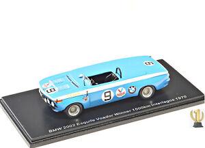 1:43 Spark S2813 BMW 2002 Esquife Voador, Winner 1500km Interlagos 1970, #9