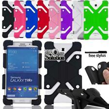 """Bumper Silicone Stand Cover Case For Various 7"""" 8"""" Samsung Galaxy Tablet"""