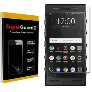 8X SuperGuardZ Clear Screen Protector Guard Shield Cover For Red Hydrogen One