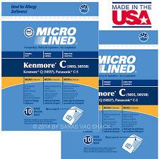 20 Sears Kenmore Vacuum Cleaner Bags 5055 50557 50558 DVC