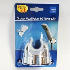 Dehub Shower Head Holder S60 with Super Suction Cups Easy & must item