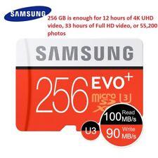 Samsung 256gb EVO Plus MicroSD SDXC Uhs-i Class 10 Memory Card