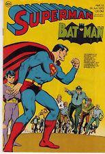 Superman 1972 Nº 13 (1) très bon état Ehapa avec marque