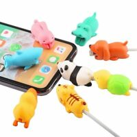 Charger Cable Protector Cartoon Animal Usb Cord Cute Charging Wire Holder Tool