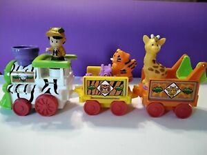 Fisher Price Little People Musical Animal Safari Zoo Train