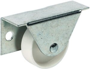 HAFELE Fixed Castor for Underbed Boxes Ø 35 mm Wheel Side Plate Fixing 66098904