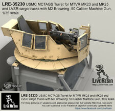 Live Resin 1/35 LRE-35230 USMC MCTAGS Turret for MTVR and LVSR Cargo Trucks