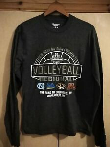 CHAMPION - WOMENS REGIONAL VOLLEYBALL USA - LONG SLEEVE T SHIRT - SIZE SMALL
