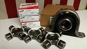 Spicer UJOINT CARRIER BEARING REAR DRIVESHAFT KIT 1999-09 FORD™ F250,350 5-1410x
