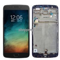 For Motorola Moto E4 Plus XT1775 Verizon LCD Touch Screen Digitizer + Frame US