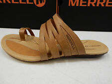 MERRELL WOMENS SANDALS SOLSTICE SLICE FAWN SIZE 9