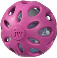 Crackle Heads Ball Dog Toy Large - PURPLE MSRP $12.99