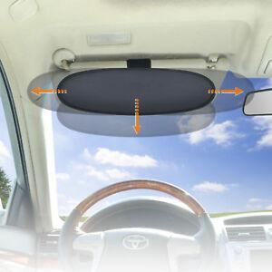 UV Sun Protection Anti-Glare Car Sun Visor Sunshade Extender for Drivers 1PC